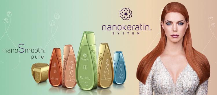 Nanokeratin System nanoSmooth pure series
