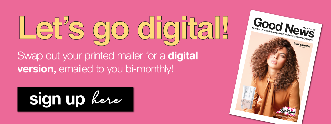 Sign up to go digital