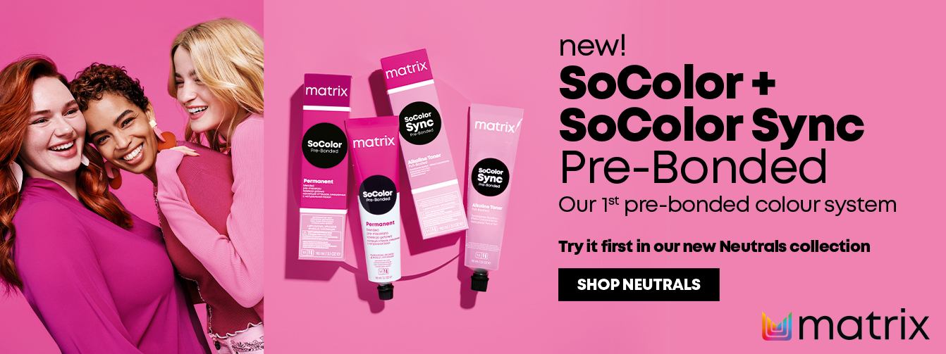 New Matrix SoColor and SoColor Sync Pre-bonded