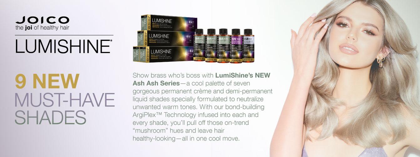 New Joico Lumishine Ash Shades