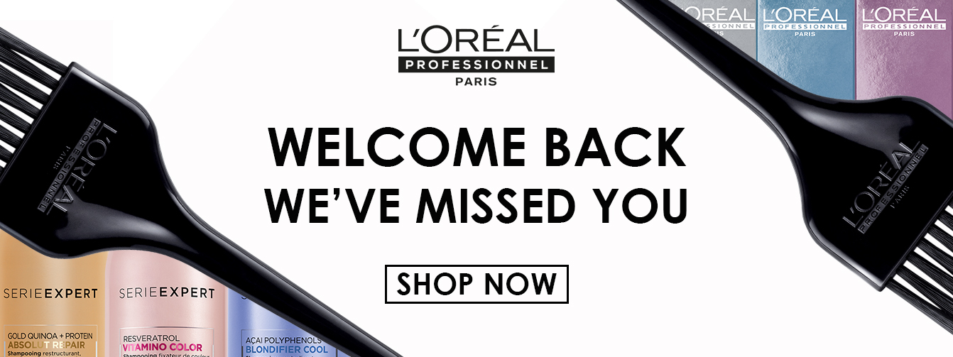 Welcome back from L'Oréal Professionnel