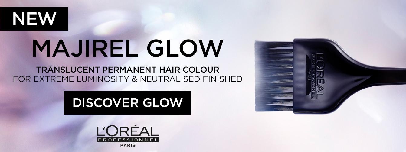 New Majirel Glow - L'oréal Professionnel's 1st Translucent Permanent Hair Colour