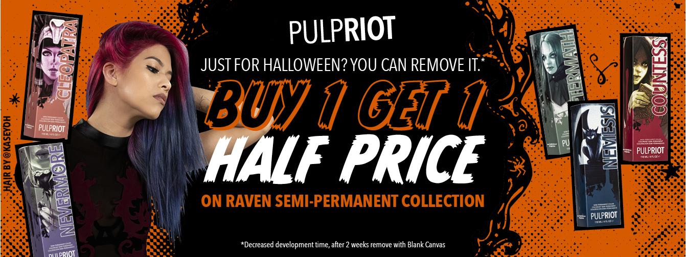 Pulp Riot Halloween Offer