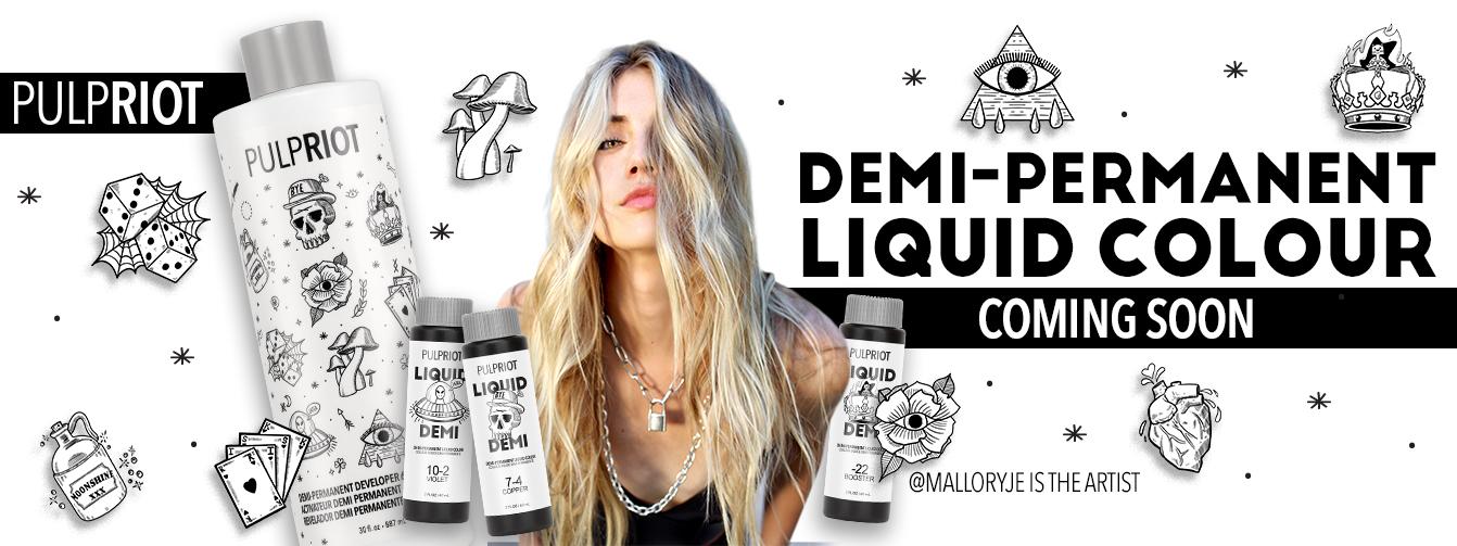 New Pulp Riot Demi-Permanent Liquid Colour Coming Soon