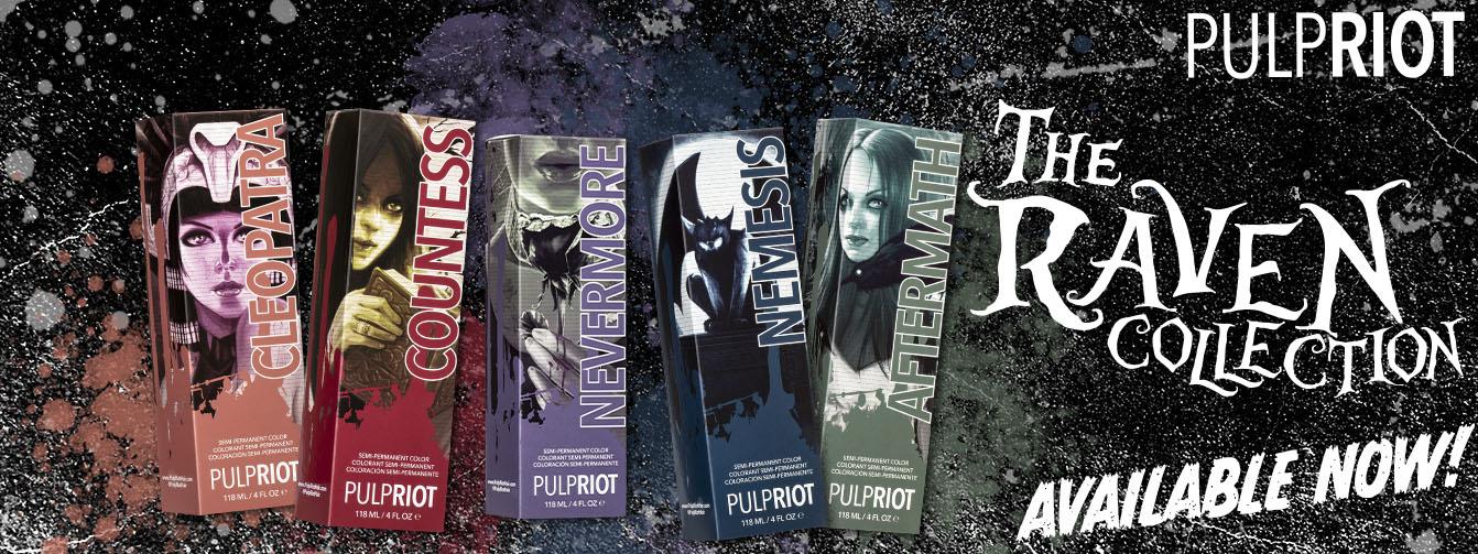 Pulp Riot Semi Permanent Raven Collection