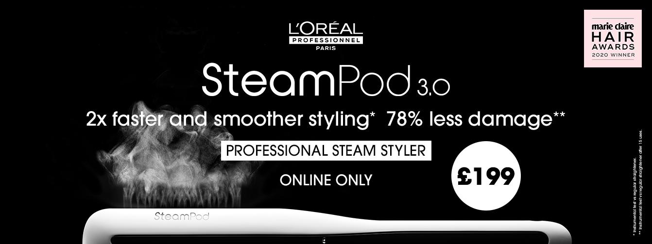 New L'Oréal Professional Steampod 3.0