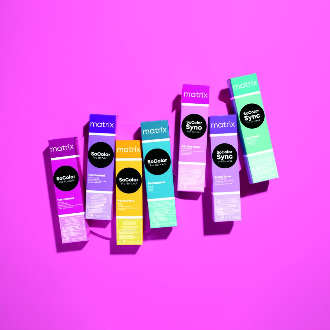 Matrix Hair Colour
