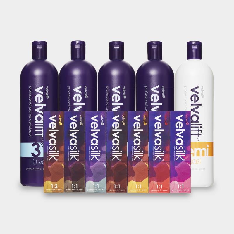 Velvasilk Hair Colour & Developer