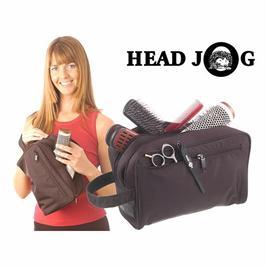 Headjog Brush Bag Black thumbnail