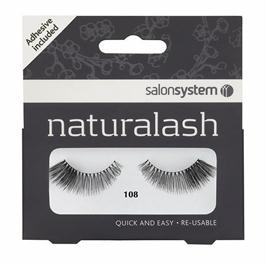 Naturalash Extra Volume 108 Black Lashes thumbnail
