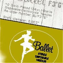 003 Gold Ballet Needles  thumbnail