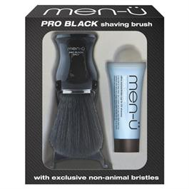 Men-u Pro Black Shaving Brush thumbnail