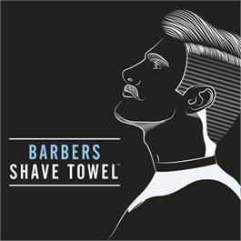 Barber Pro Shave Towels (4pk) BLACK thumbnail