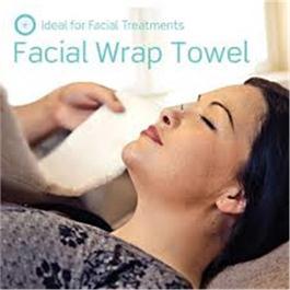 Beauty Pro Facial Wrap Towels (6pk) Whit thumbnail