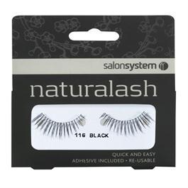 Naturalash 116  Strip Black Lashes thumbnail