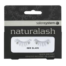 Naturalash 020 Strip Black Lashes thumbnail