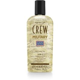 Military 3 in 1 Shampoo 250ml thumbnail