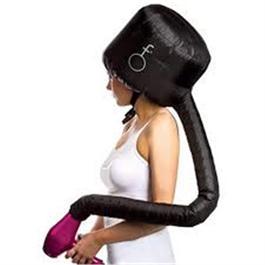 Black Soft Hood Hair Dryer Attachment thumbnail