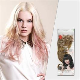 50pcs Fill In Rings Human Hair 40cm 1B thumbnail