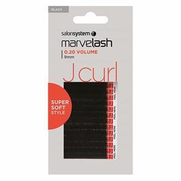 J Curl Lashes 9mm black thumbnail