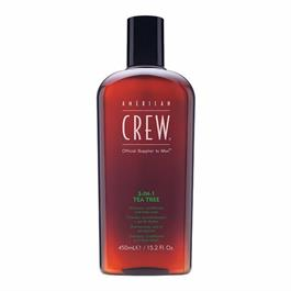 CREW 3 IN 1 TEA TREE SHAMPOO 450ml thumbnail