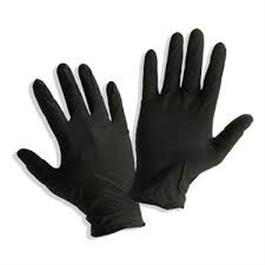 Black Nitrile Gloves Large thumbnail