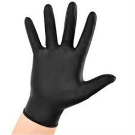 Black Nitrile Powder Free Gloves Extra Large thumbnail