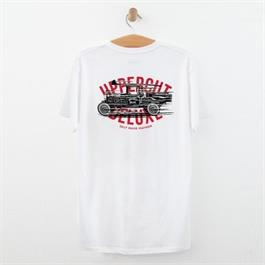 Uppercut Deluxe T-shirt Mayhem White/Bla thumbnail