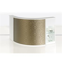 Form White Reception Desk by Salon Ambience thumbnail