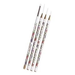 Cuccio Nail Art Brushes 4 Pk thumbnail