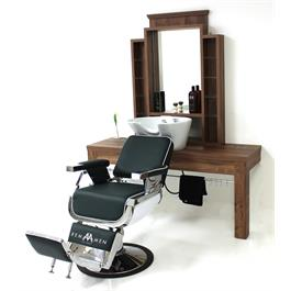 REM Montana Barber Unit with Backwash Basin thumbnail