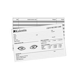 Kalentin Client Record Cards thumbnail