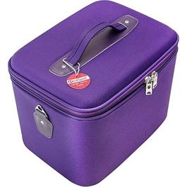 Red Spot Large Vanity Case Purple thumbnail