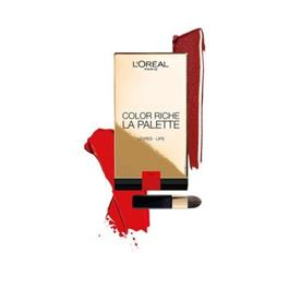LOreal Paris Color Riche Lip Palette Rouge thumbnail