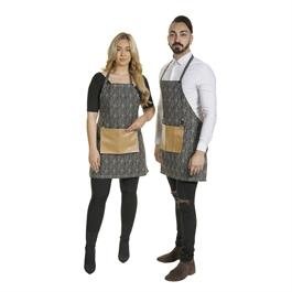 Luxury Barber Apron Black thumbnail