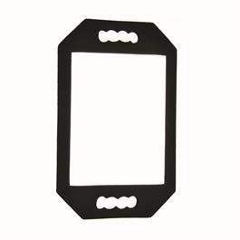 AH Essentials Two Handle Mirror Black thumbnail