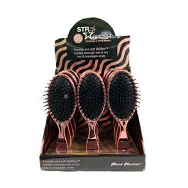 STR Rose Gold Shine & Detangle Brush 12 pc Display thumbnail