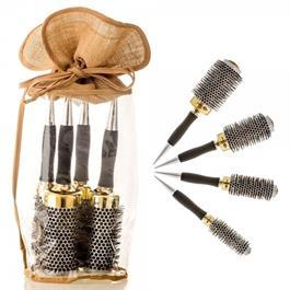 Head Jog Gold Thermal Ceramic Brush Set thumbnail