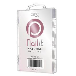 Pure Nails Natural Tips Mixed 100's thumbnail