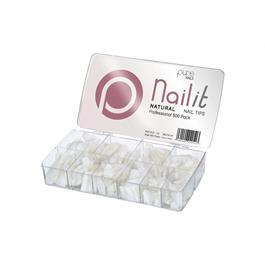 Pure Nails Natural Tips Mixed 500's thumbnail