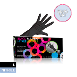 Black Mamba Nitrile Gloves Large thumbnail