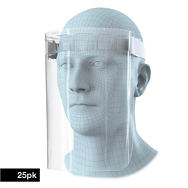 Elasticated Face Visor (Box of 25) thumbnail