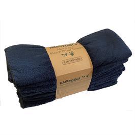 Hair Tools Microfibre Towels BLACK 12pk thumbnail