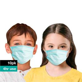 Kids Disposable Protective Face Masks (10 pack) thumbnail