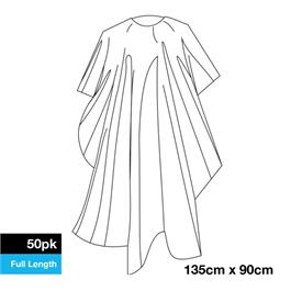 Disposable Cutting Cape - 50 Pack thumbnail