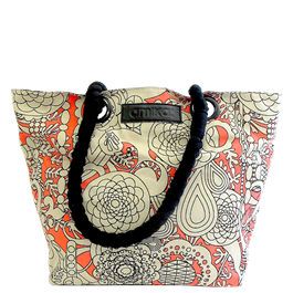 amika Signature Print Tote Bag  thumbnail