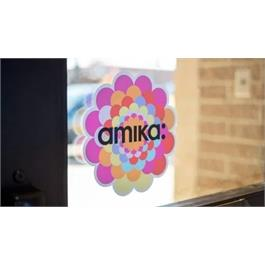 amika Window/Door Flower Decal thumbnail