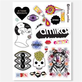 amika Multi Sticker Sheet Full Size thumbnail