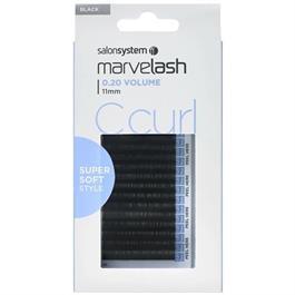 Lash Extensions C Curl 11mm Black thumbnail