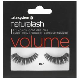 Naturalash 107 Black Lashes thumbnail